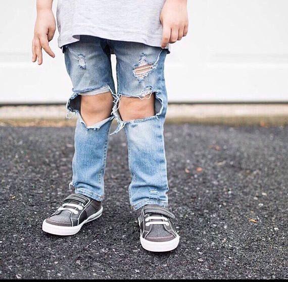 Toddler Distressed Jeans Vintage Wash Quot Carolina Coast