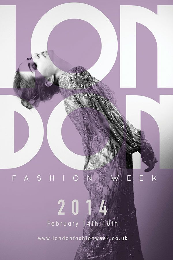 London Fashion Week Poster on Behance | not this but ...