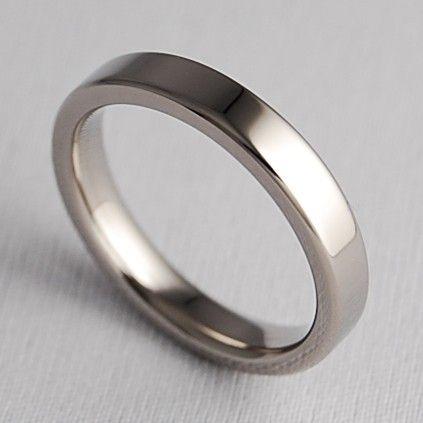 Wedding Band Titanium Ring Womens Promise The Aphrodite
