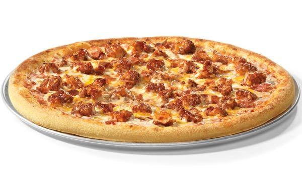 Pizza: BOSS Barbecue Chicken