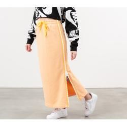 Nike Sportswear Fleece Long Skirt Orange Chalk/ White/ Laser Orange Nike