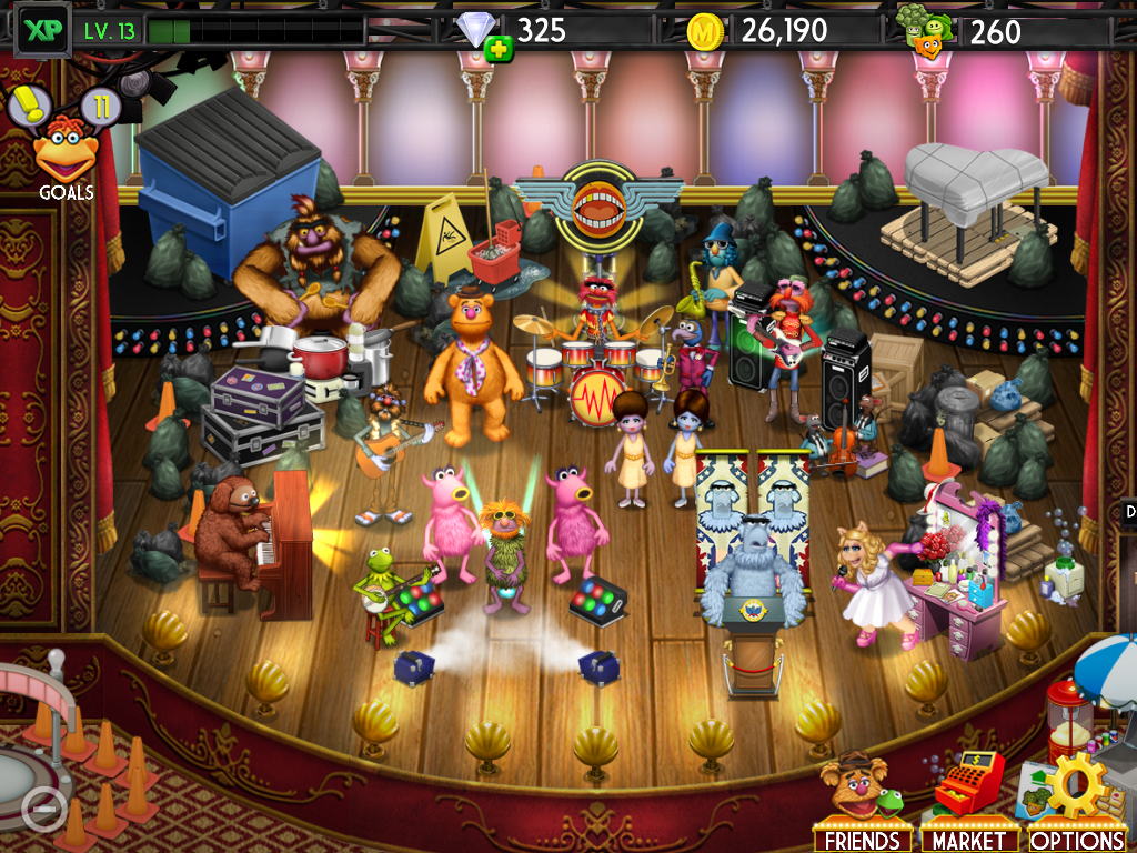 Disney Interactive's My Muppet Show App For iOS and