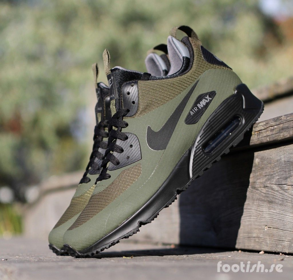 lowest price 25f95 3cf43 Nike Air Max 90 Mid Winter 806808-300 806808-400   Footish
