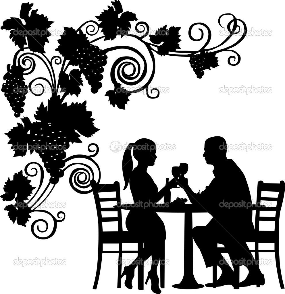 animated women toasting wine glass | ... toast with glass of wine ... for Grapes Animated  66plt