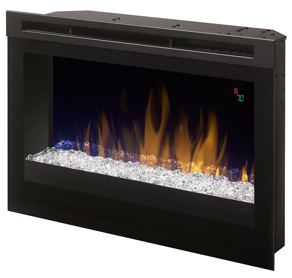Dimplex 25 In Contemporary Electric Fireplace Insert Dfr2551g