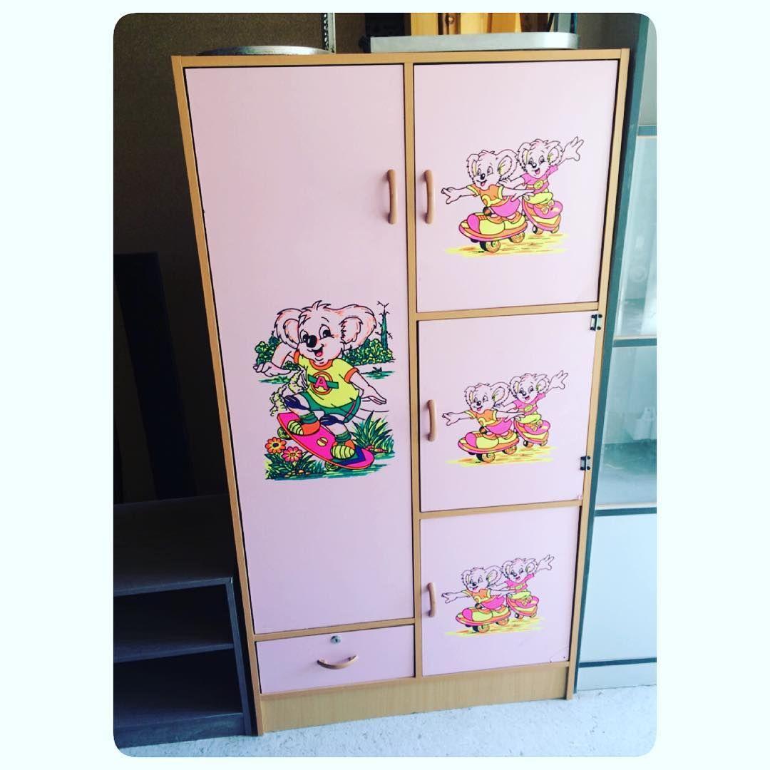 For Sale Kids Cabinet Wood Size 80x150x40 Good Condition Price 15 Bd للبيع خزنة ملابس أطفال خشب مقاس 80x150x40 بحالة جيدة Home Decor Decor Furniture