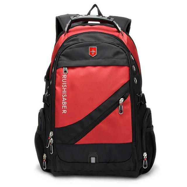 New Oxford Swiss Backpack USB charging 17 Inch Laptop Men