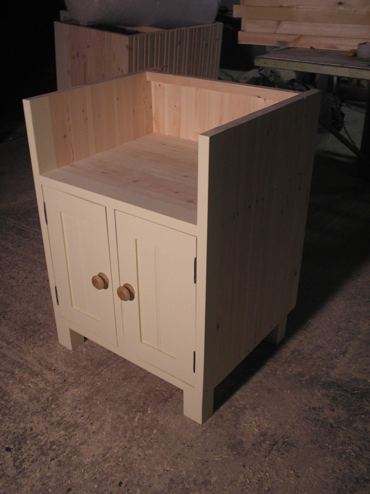 Freestanding Painted Kitchen Belfast Sink Unit (BBC 01/6) | eBay ...