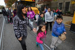 National principal of the year from Phila.  Lisa Kaplan, principal of Andrew Jackson Elementary School at 1213 S. 12th St, is the winner of the 2015 Escalante-Gradillas Prize for Best in Education.  http://mobile.philly.com/news/?wss=/philly/education&id=337220811