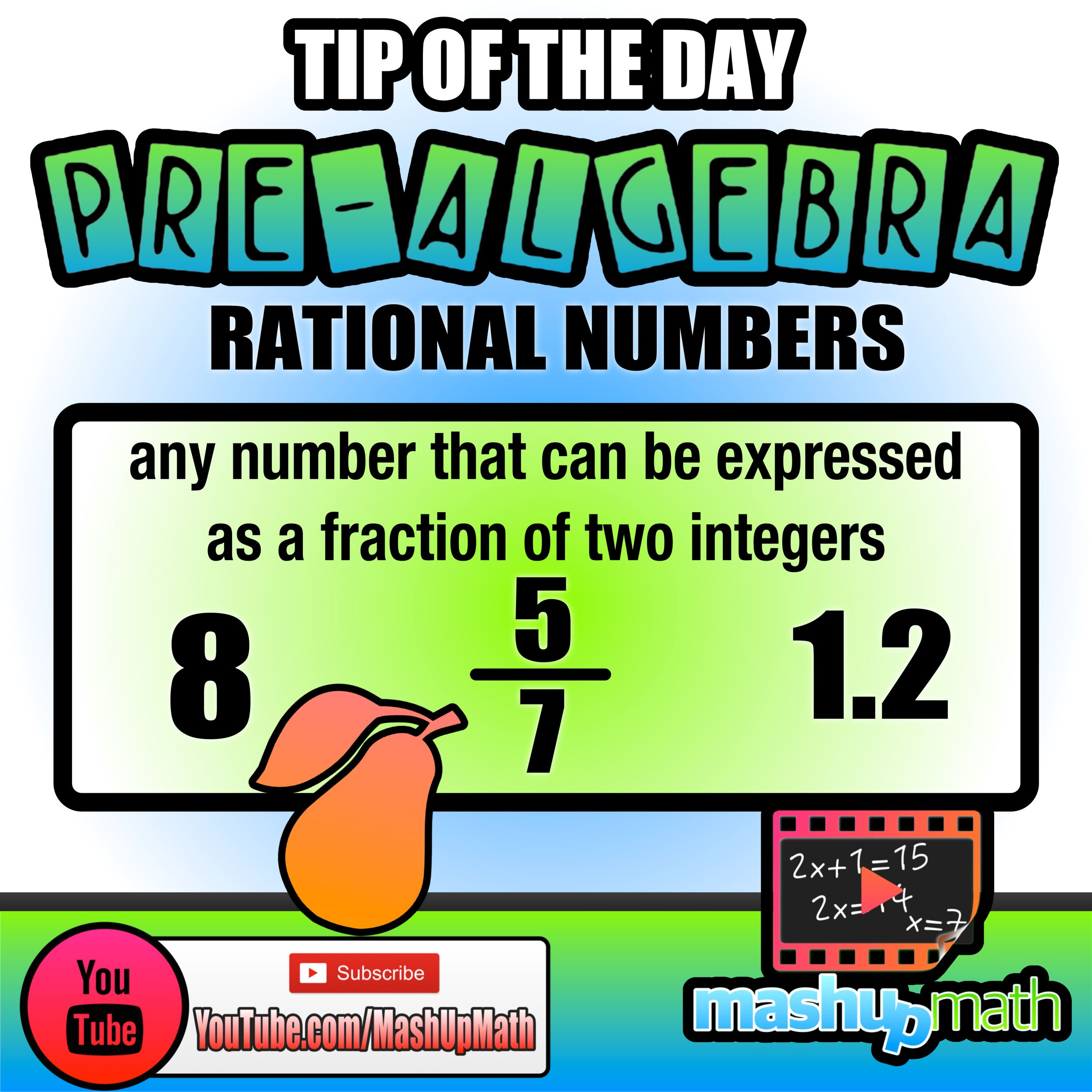For more math content, check out our animated lessons at YouTube.com ...