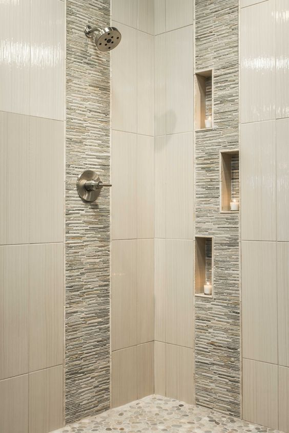 32 Modern Shower Designs To Accommodate In Different Bathroom Decors Bathroom Tile Designs Shower Tile Designs Modern Shower
