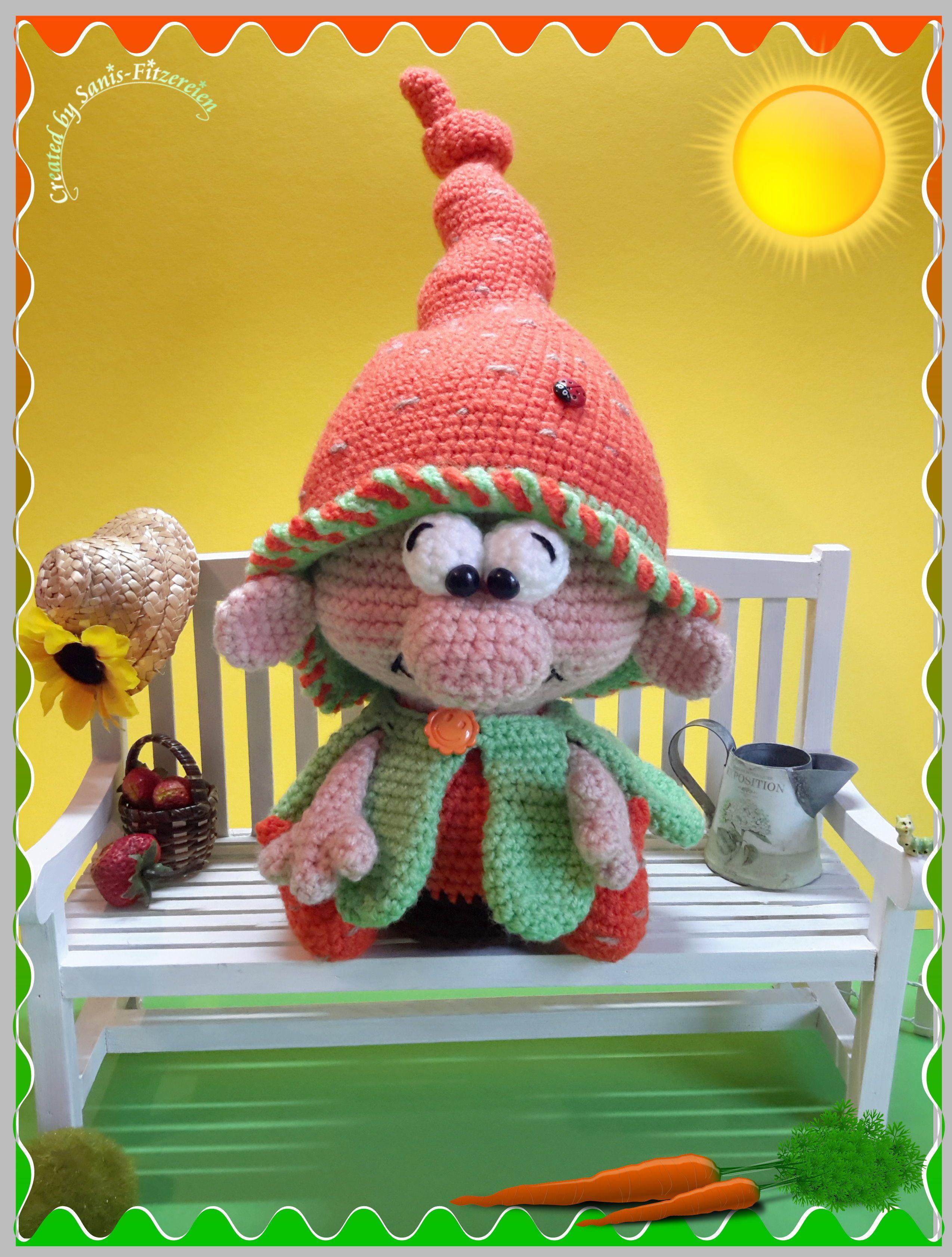 Häkelanleitung Möhrchen, Amigurumi | Amigurumi, Crochet and Dolls