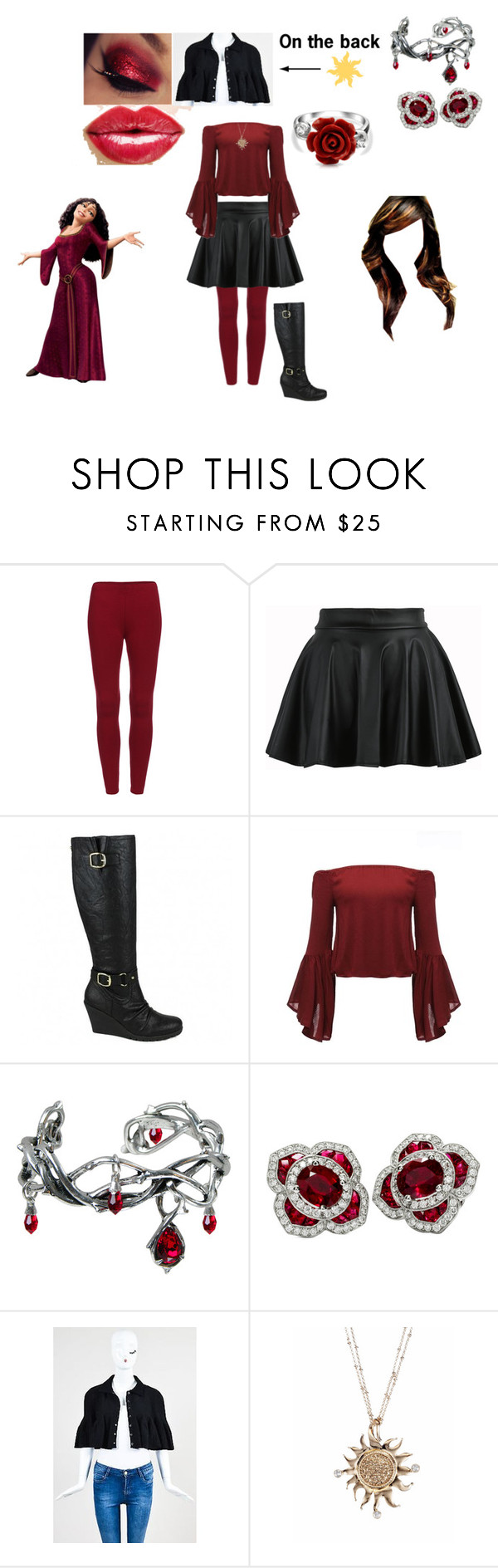 """""""Gabby Gothel"""" by jennybear3002 ❤ liked on Polyvore featuring Alaïa and Bling Jewelry"""