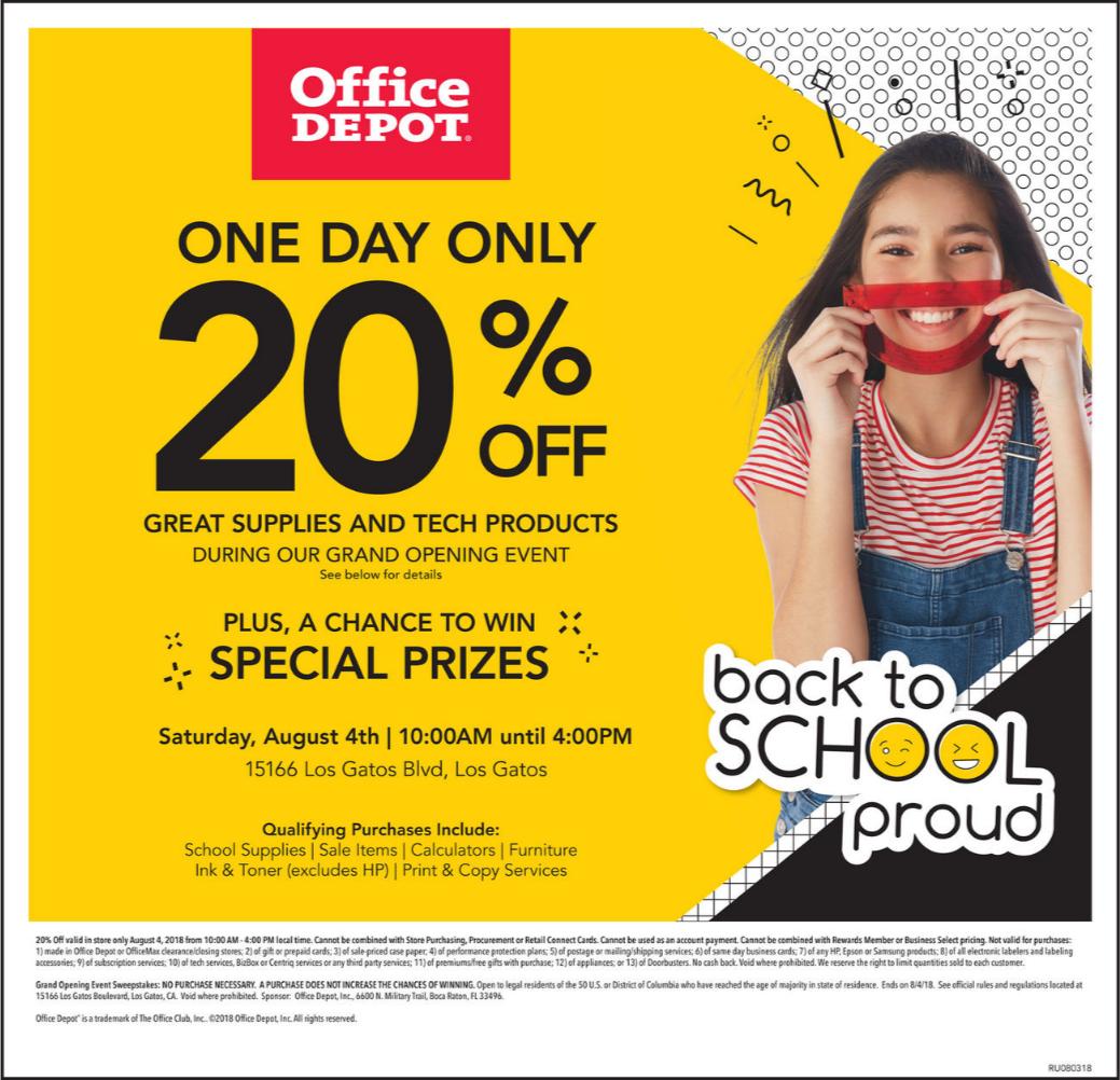 Office Depot Ad October 21 27 2018 Weeklyad123 Com Weekly Ad Circular Grocery Stores Office Depot Ad
