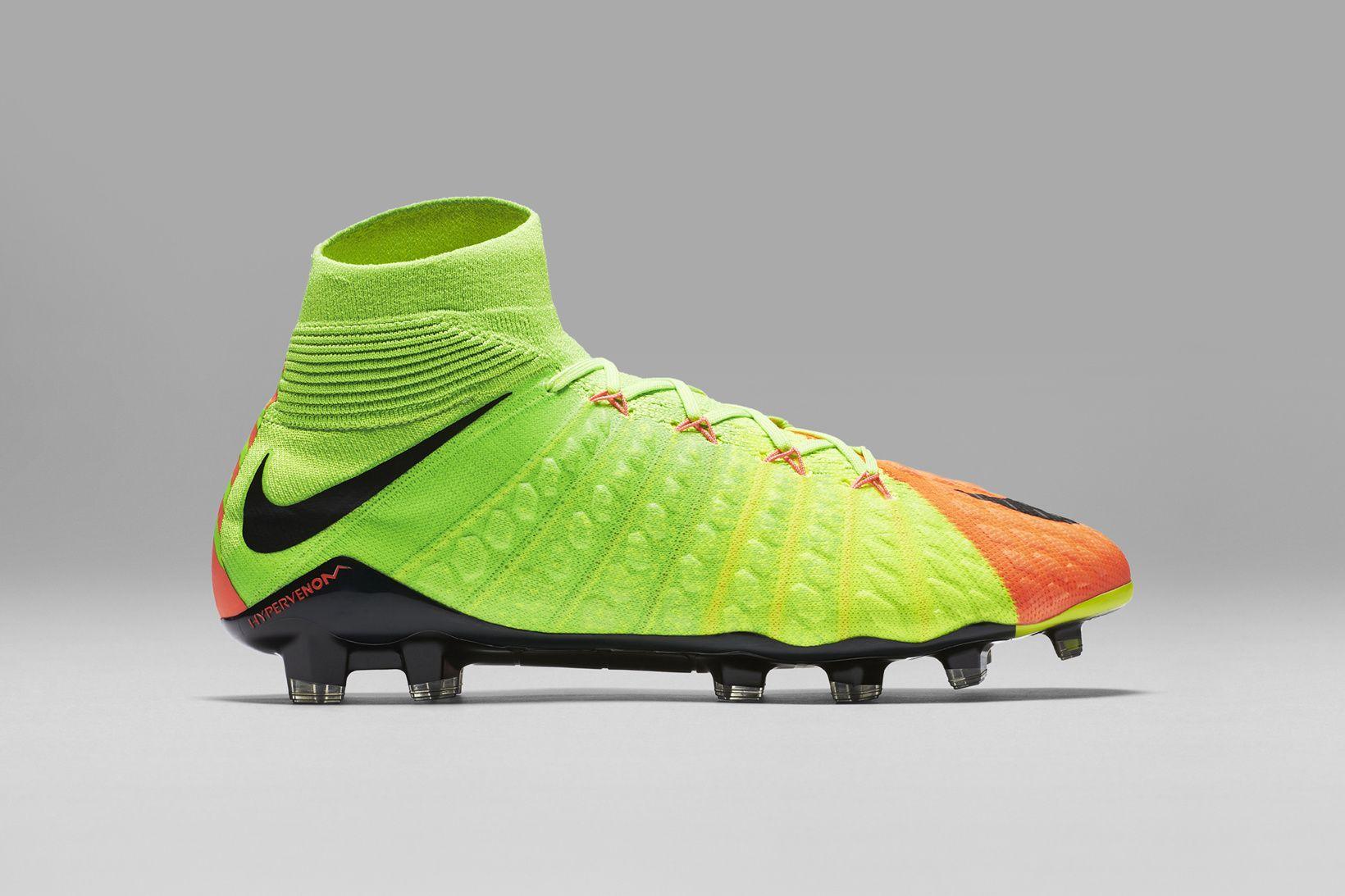 free shipping 32978 f30ba Nike Football Soccer Hypervenom 3 Marcus Rashford Robert Lewandowski Harry  Kane Gonzalo Higuain Edinson Cavani