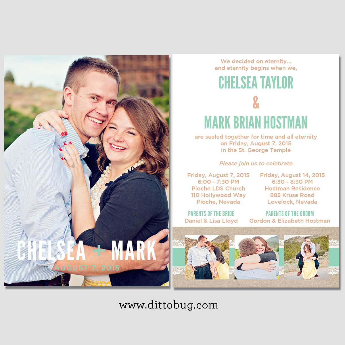utah wedding invitations and utah wedding announcements - Wedding Invitations Utah