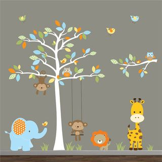Best Jungle Wall Decal Perfect For Any Baby Boys Bedroom Nursery Pinterest Jungles Decals 400 x 300