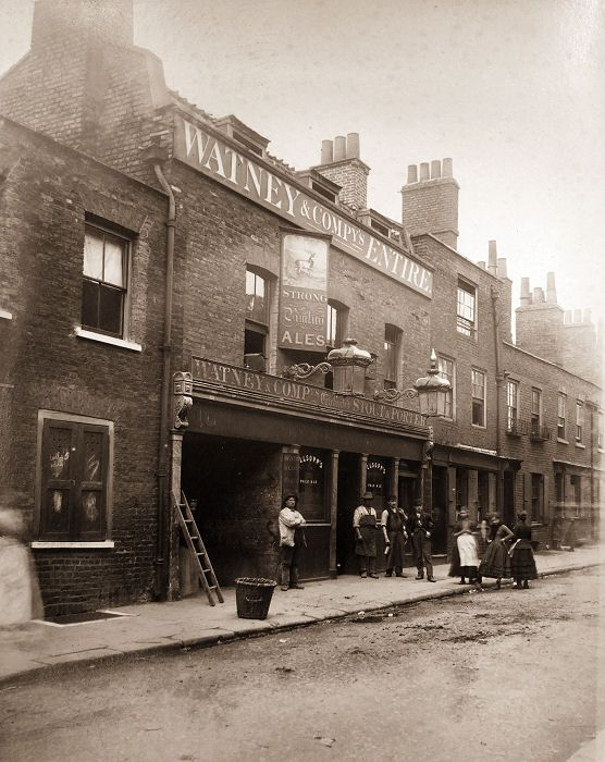 The White Hart ,Greenfield Street c. 1875