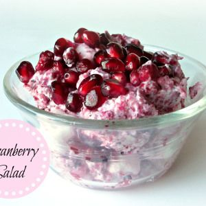 Cranberry Salad | Love to be in the Kitchen
