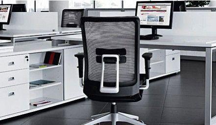 Silla de oficina en el que el empleo de nuevos materiales y la aplicación de últimas tecnologías responde con sofisticación a las necesidades de cada usuario consiguiendo la máxima ergonomía en cualquier espacio de trabajo