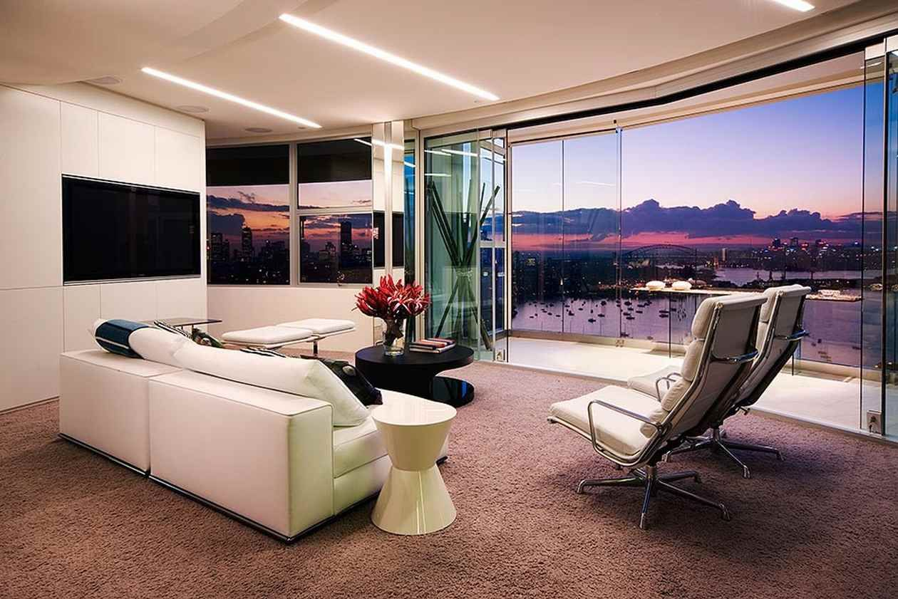 Modern apartment interior design in warm and glamour style digsdigs - Modern Apartment Interior Design In Warm And Glamour Style Digsdigs