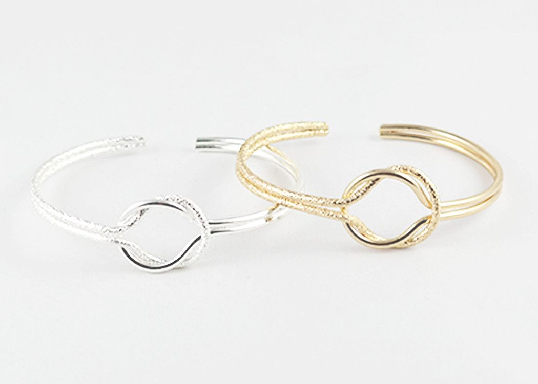 link cuff bangle in silver | sophari