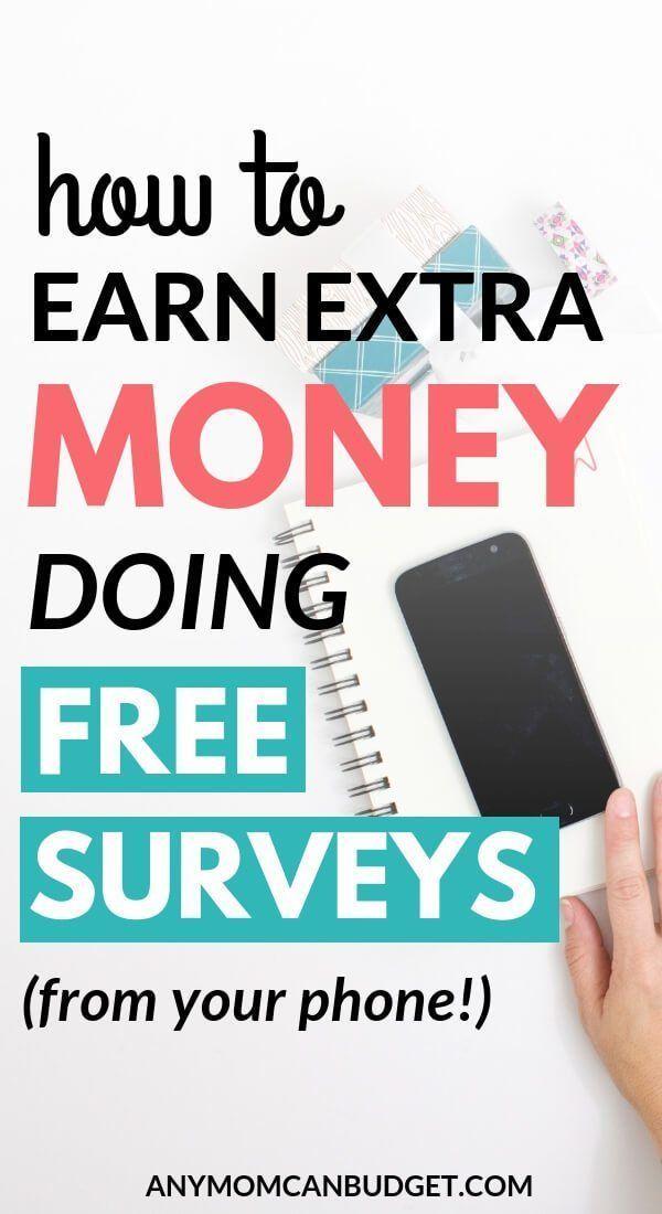 how to make money doign surveys