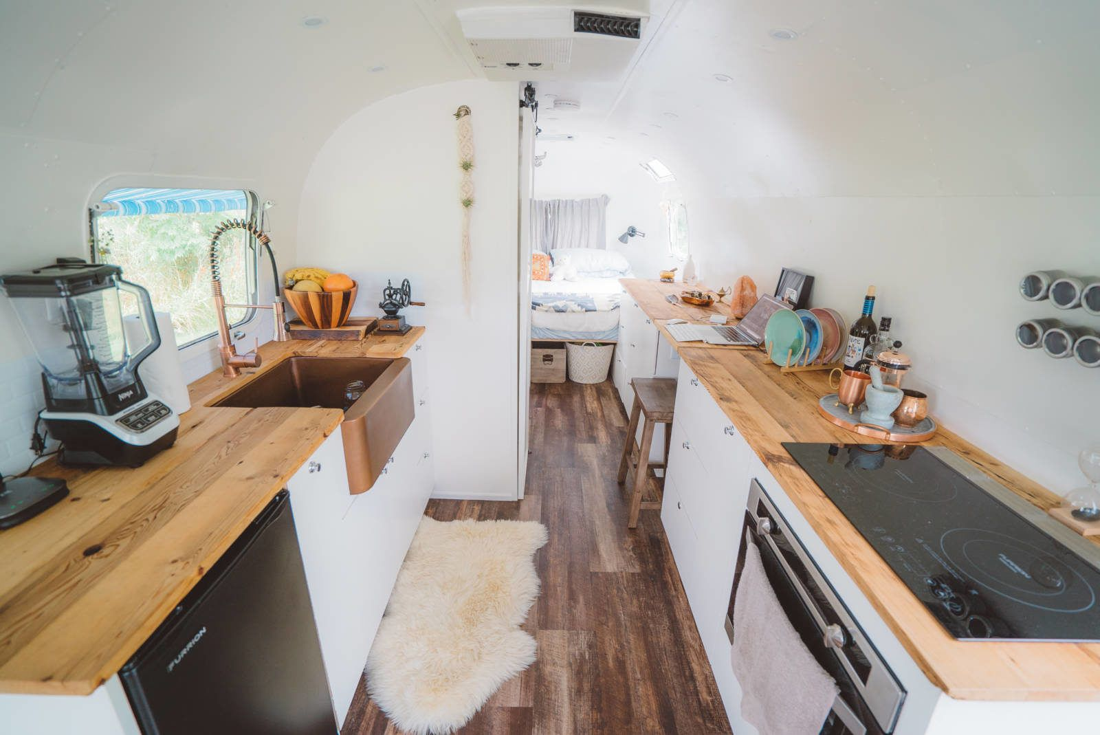 The Airstream Renovation is complete! Our journey renovating a vintage Airstream has been a wild one, but she's done. Meet Luna. Our luxury home on wheels.