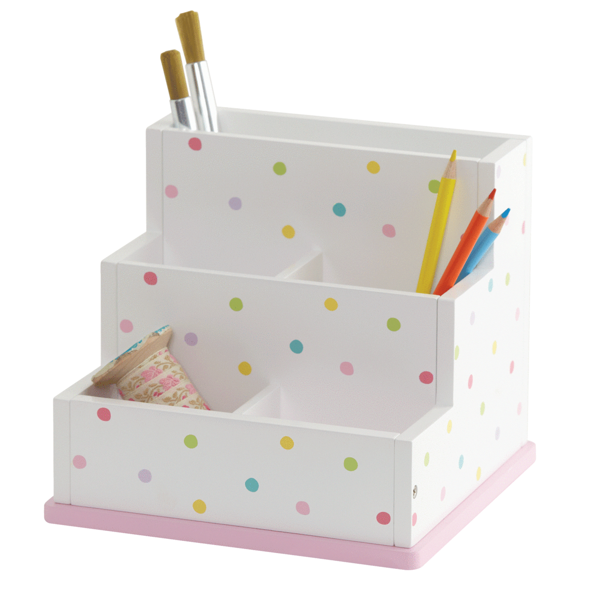 Children S Desk Tidy Confetti Spot Childrens Desk Desk