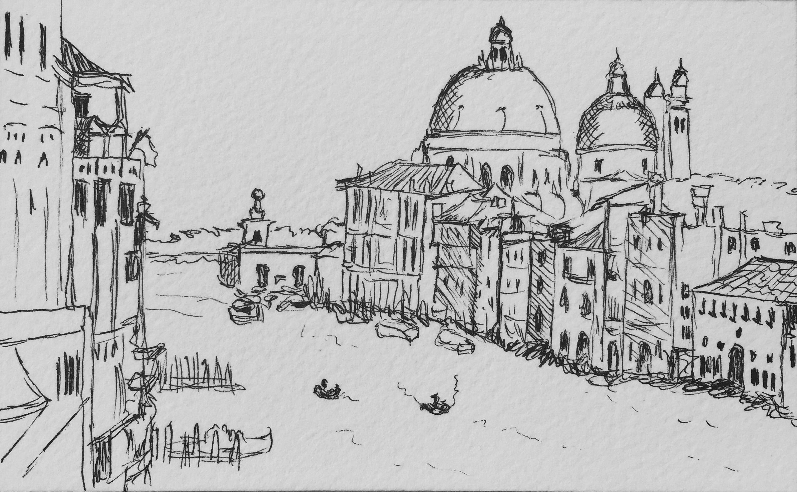 Venice Italy Sketch