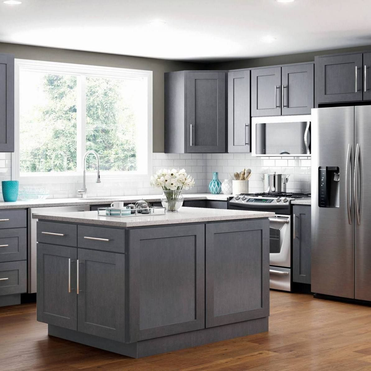 39+ The War Against Square Kitchen Layout with Island ...