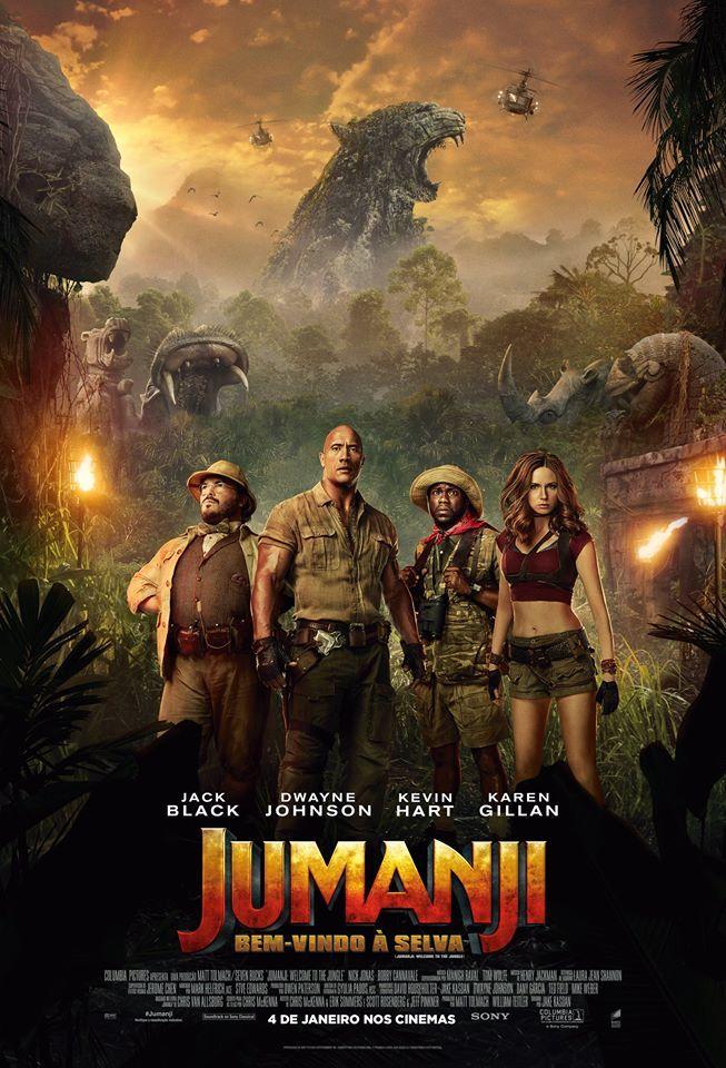 Assistir Jumanji Bem Vindo A Selva Dublado Online No Livre Filmes