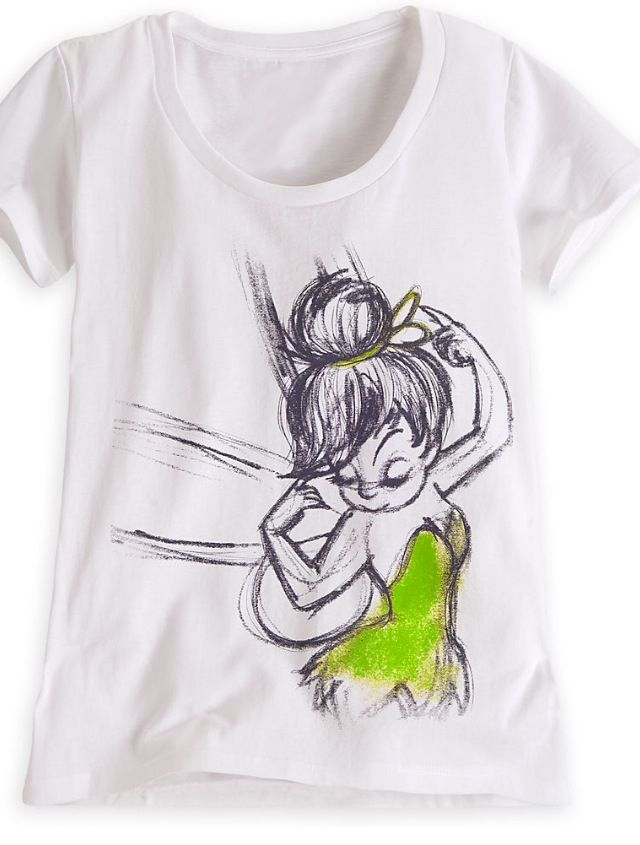 1bfccc9d Tinkerbell shirt   Disney❤   Disney shirts, Disney shorts, Disney ...