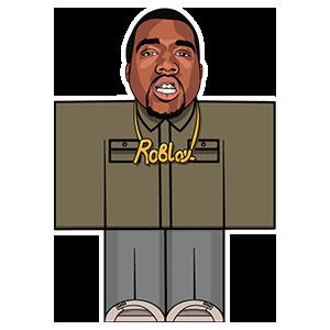 Kanye West Roblox Kanye West Kanye Sticker Collection