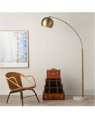 House · Threshold Globe Arc Floor Lamp ...