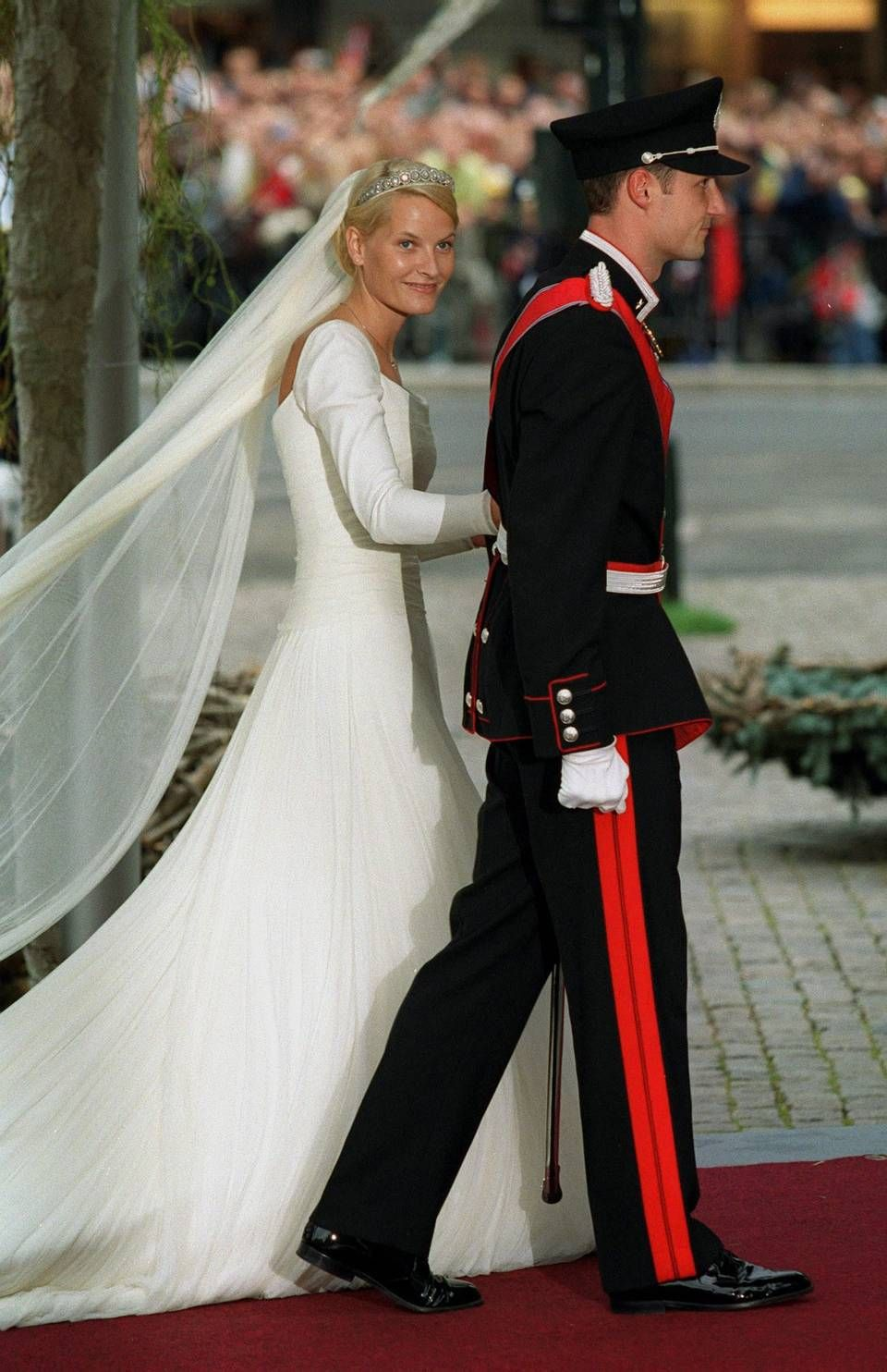 Resultado de imagen de Mette Marit Tjessem boda