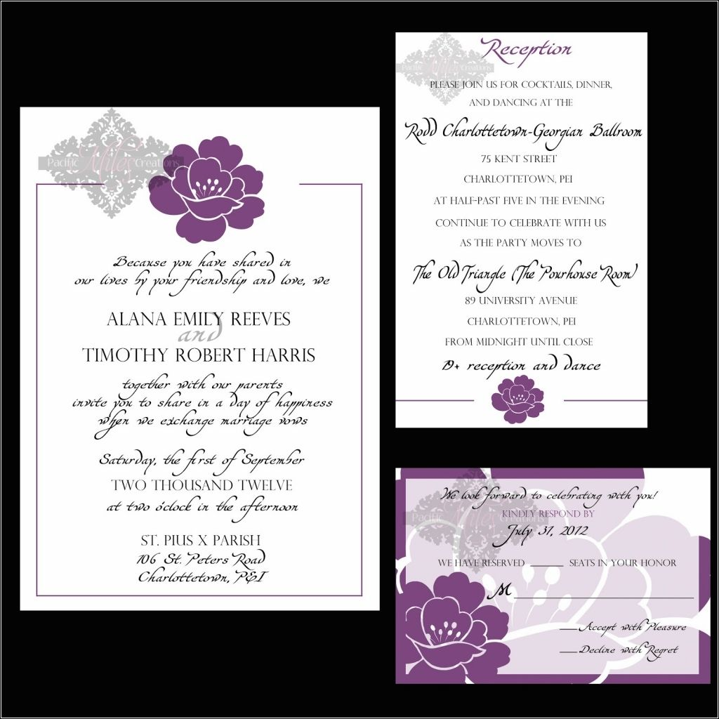 post wedding reception invitations- Everything about post wedding ...