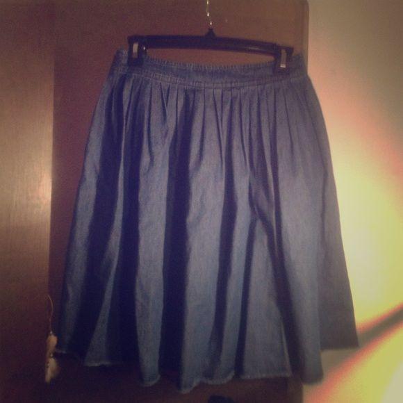 kate spade saturday denim skirt b Skirts
