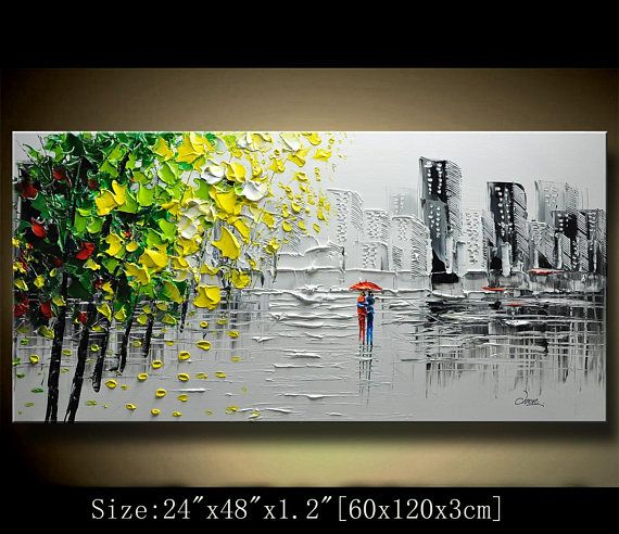 A new type of Abstract Wall Painting,contemporary wall art,Impasto