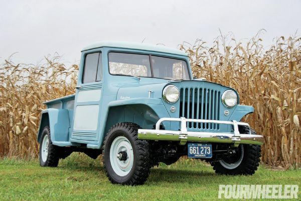 1948 Willys Overland Jeep Truck Backward Glances Four