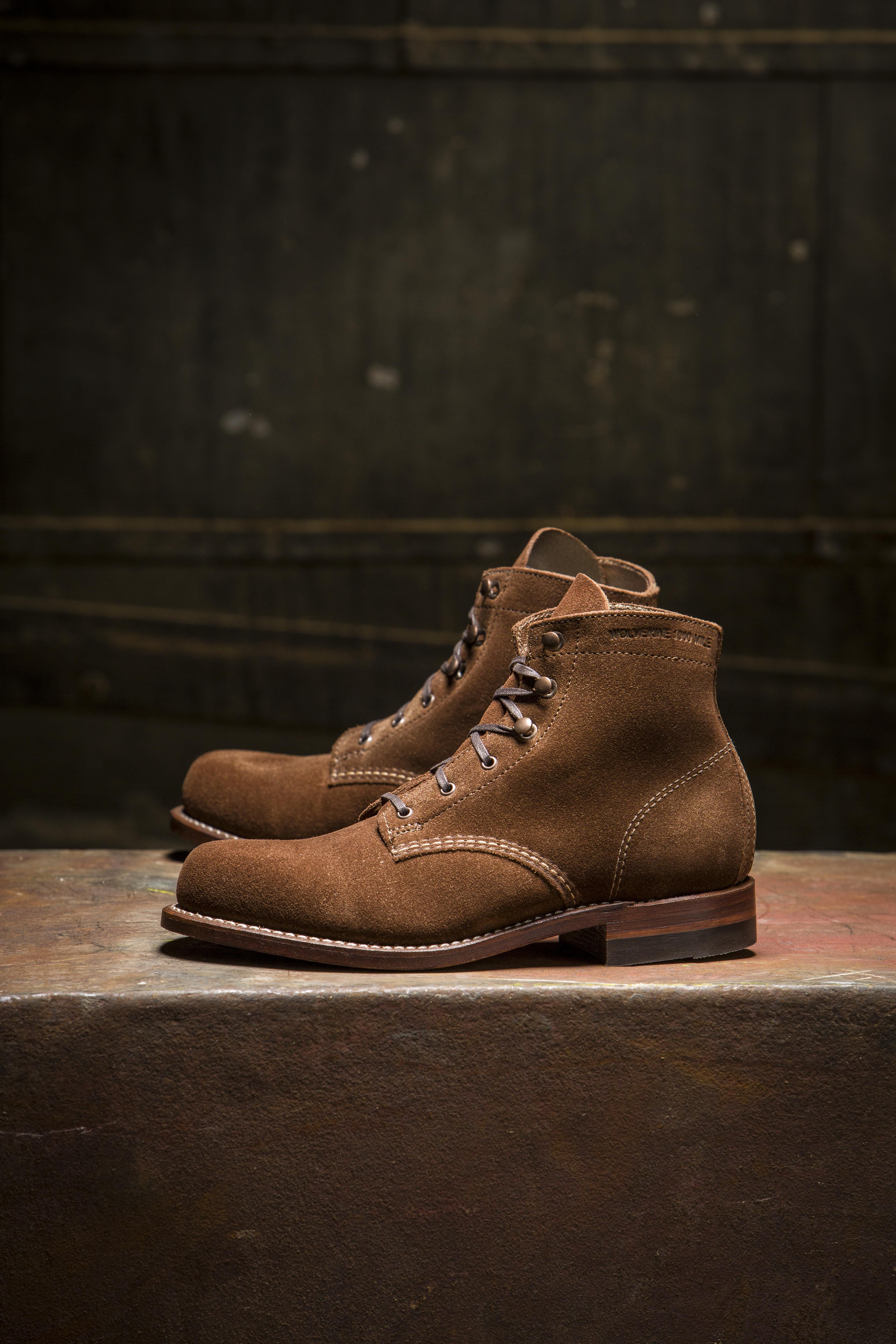 Boots, Wolverine 1000 mile boots