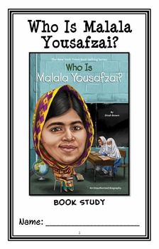 Who Is Malala Yousafzai? (Dinah Brown) Book Study ...