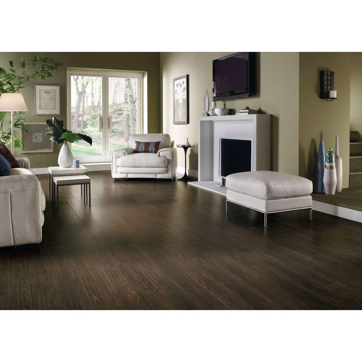 Armstrong rustics premium laminate square feet per case flooring pack prairie brown black also