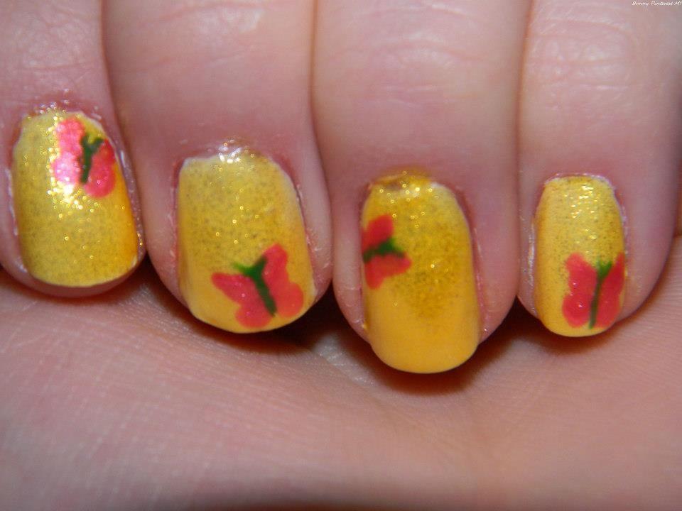 Someone else\'s design; (the show) MLP:FiM; Fluttershy   Nail Art ...