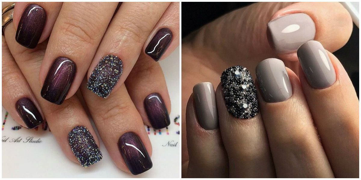 Winter Nail Colors 2019 Nail Design With Beads Nail Colors