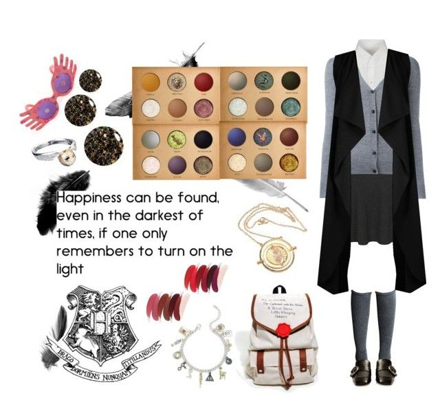 """Hogwarts"" by mysterylullaby on Polyvore featuring George, Maison Margiela, Lord & Taylor, Burberry, Boohoo, Gucci, Warner Bros., Torrid and Guide London"