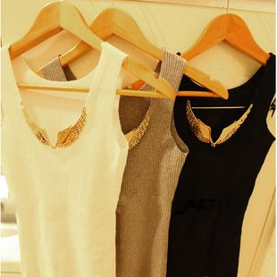 gold wings endurably seamless vest clothes