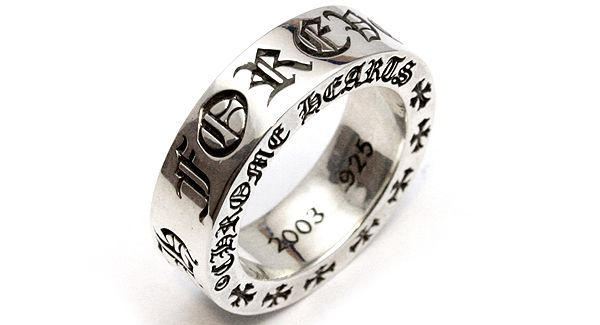 54dd2e5ce3a Chrome Hearts Forever Ring