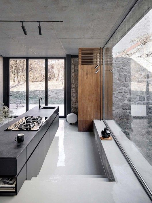 Gallery Of House On The Great Wall Mddm Studio 1 Loft Interiors House Design Loft Interior Design