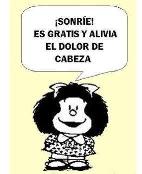 Sonríees Gratis Mafalda Mafalda Frases Y Imagenes